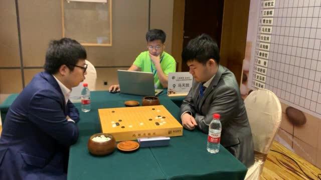 视频-南珠杯业余围棋赛首轮 白宝祥马天放焦点战