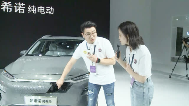 视频:在本届上海车展上,北京现代共给我们带来了13款车型