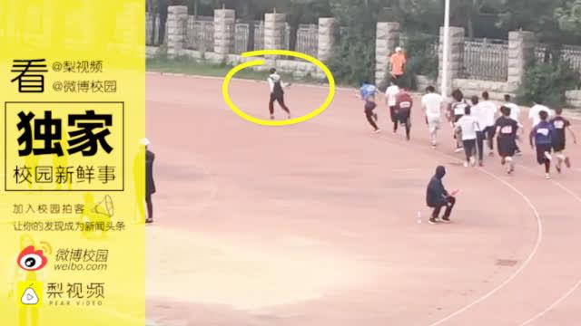 摄影师跑得比运动员快