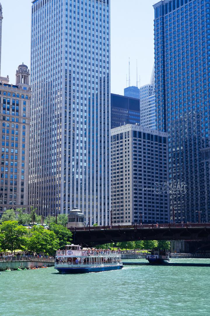 美国芝加哥,浴火重生的北半球最美天际线