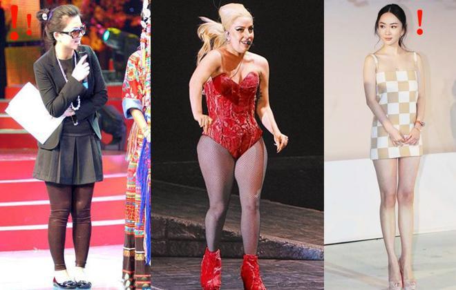 长腿不一定靠高跟 女星平底鞋测验谁能赢