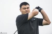 姚明参加高尔夫比赛