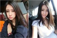 刘晓宇女友钟鹿纯写真