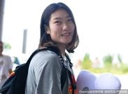 中国女篮抵锡林浩特