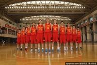 女篮国家队肖像写真