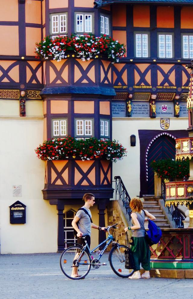 哈茨山脚下一座美如童话的小城