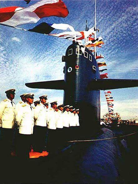 资料图:091攻击型核潜艇