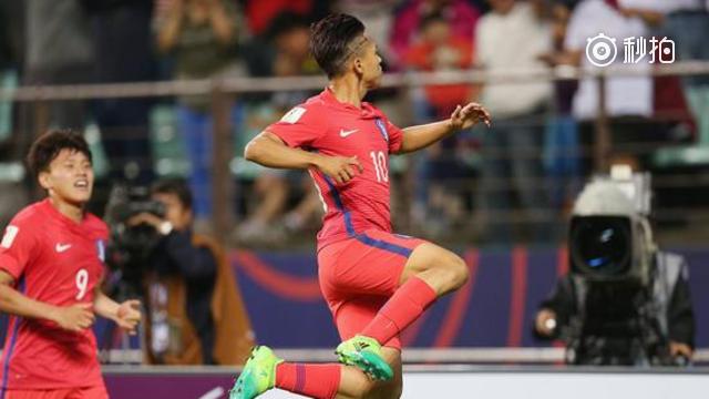 视频-世青赛韩国2-1阿根廷出线 李昇祐白昇浩再破门
