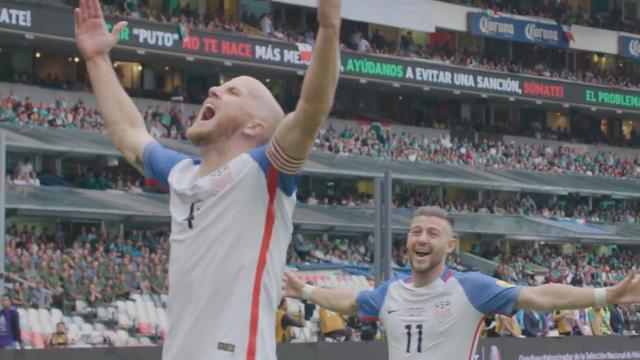 进球视频-墨西哥1-1美国 布拉德利中场断球+惊天吊射