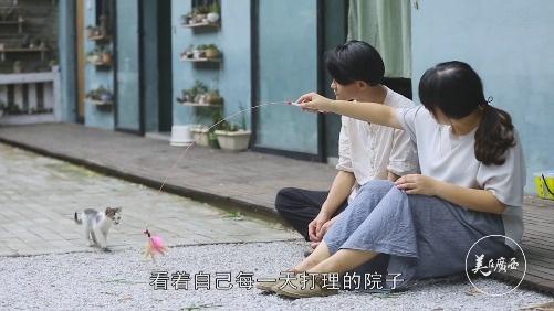 男子留学归来 和妻子在南宁的村里过上理想生活