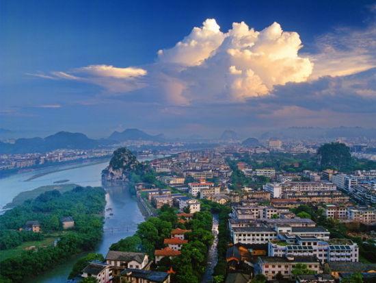 山水之城桂林 图:新浪博主/美丽天使