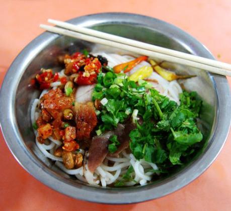 桂林米粉 图:新浪博主/潇潇的简约厨房