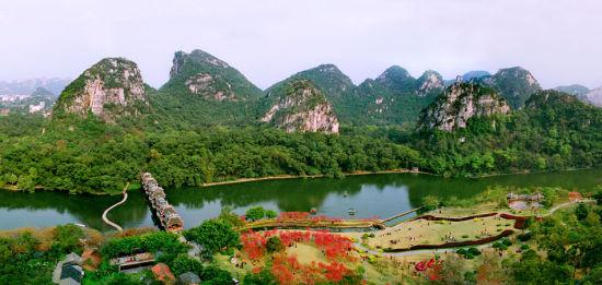 柳州龙潭公园 图:柳州市旅游局