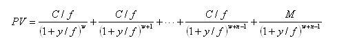 式中:y为所求的到期收益率;