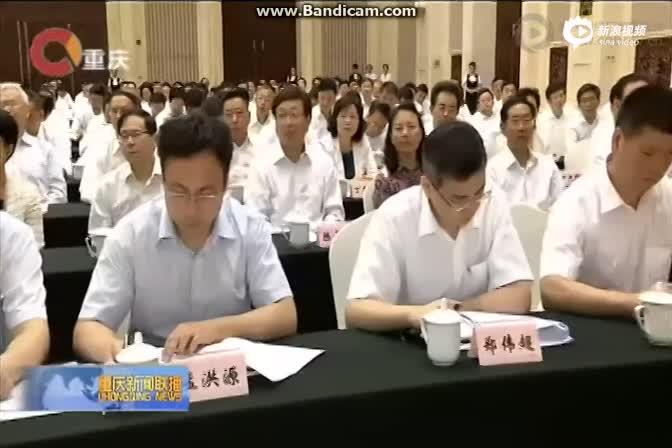 重庆市新任书记陈敏尔讲话