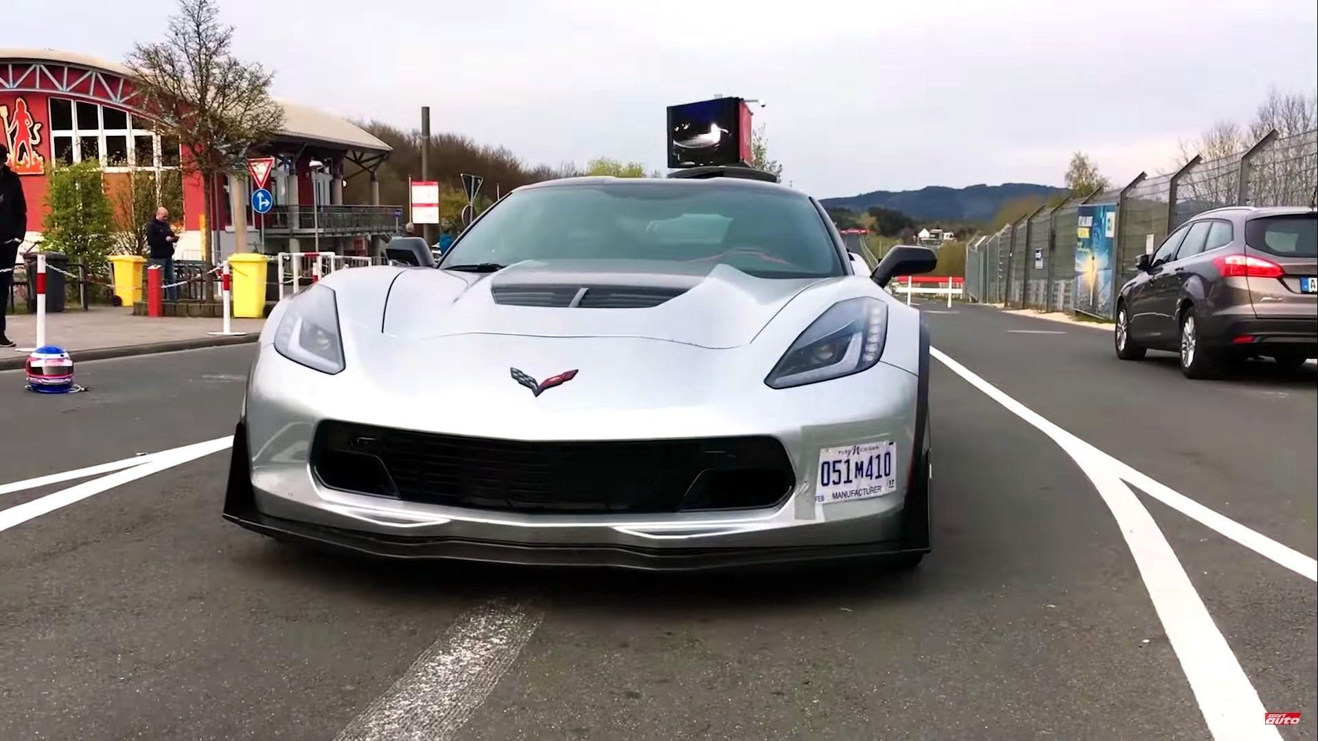纽博格林,克尔维特Corvette Z06最新圈速