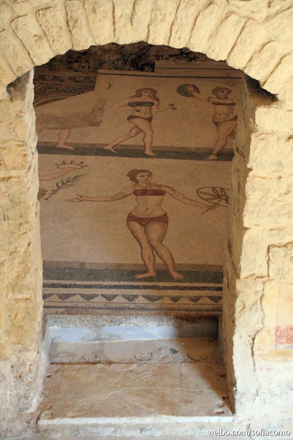 一千七百年前的比基尼女郎与世界最美台阶