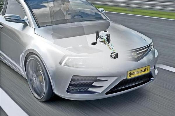 大陆推出MK C1电子<em>制动</em>方案 定位高度自动化驾驶