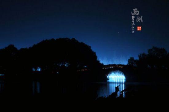 盛夏之夜 去西子湖畔做个深呼吸(组图)