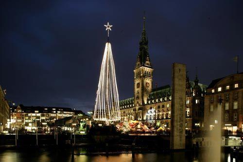 汉堡圣诞:幻化出一座童话般的仙城