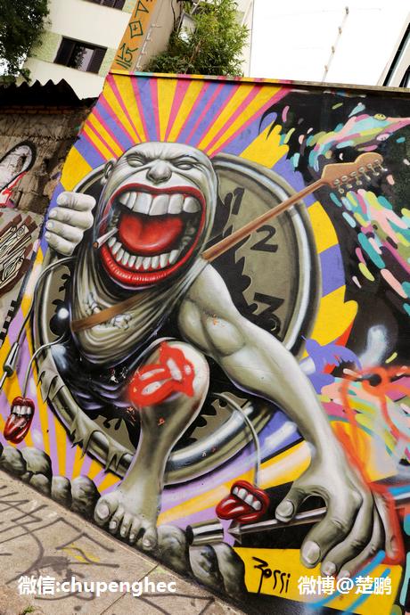 【巴西】世上最美的涂鸦胡同