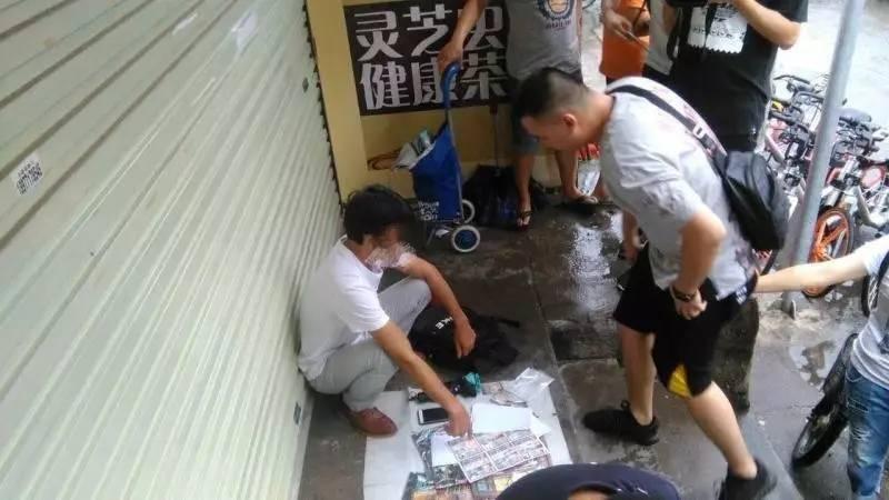 南宁:民警出击整治六合彩乱象 五名男子被控制