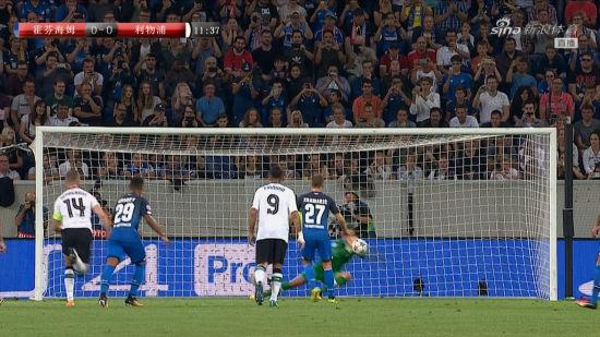 欧冠视频-格纳布里禁区造点 米尼奥莱神扑力保球门