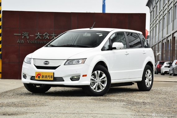 5月限时促销 比亚迪e6新能源新车优惠21.06万起