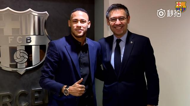 视频-巴萨官方宣布起诉内马尔 索赔850万欧元