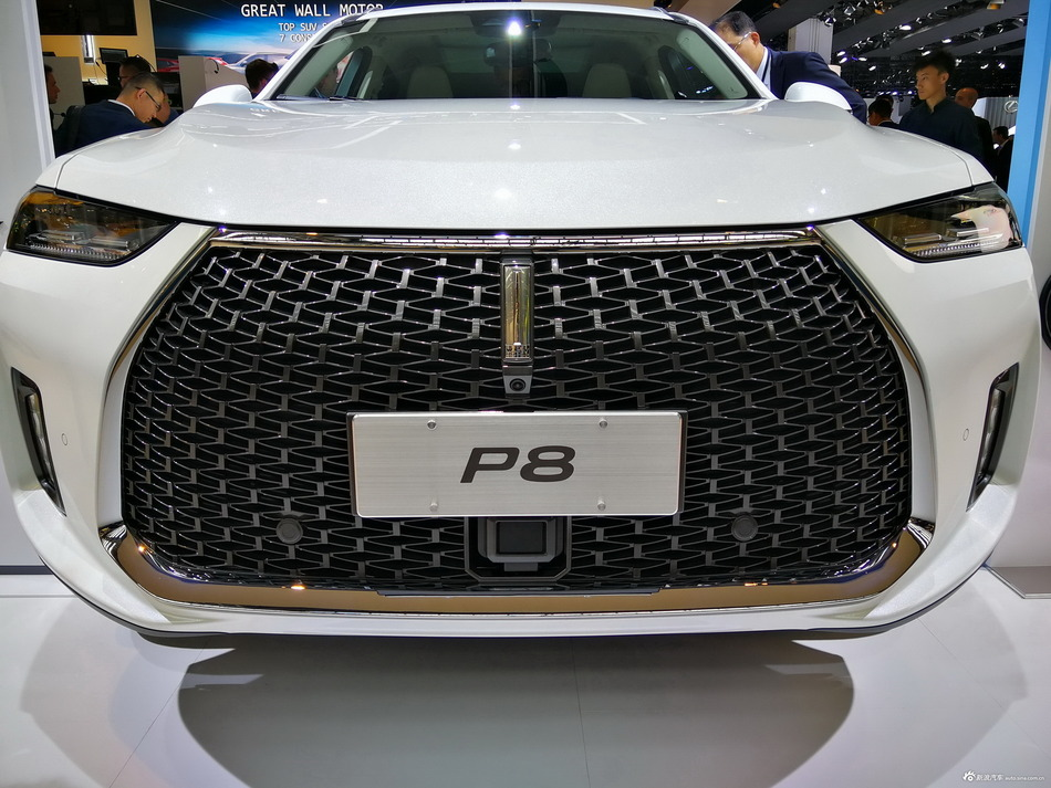 法兰克福车展 WEY P8全球首发
