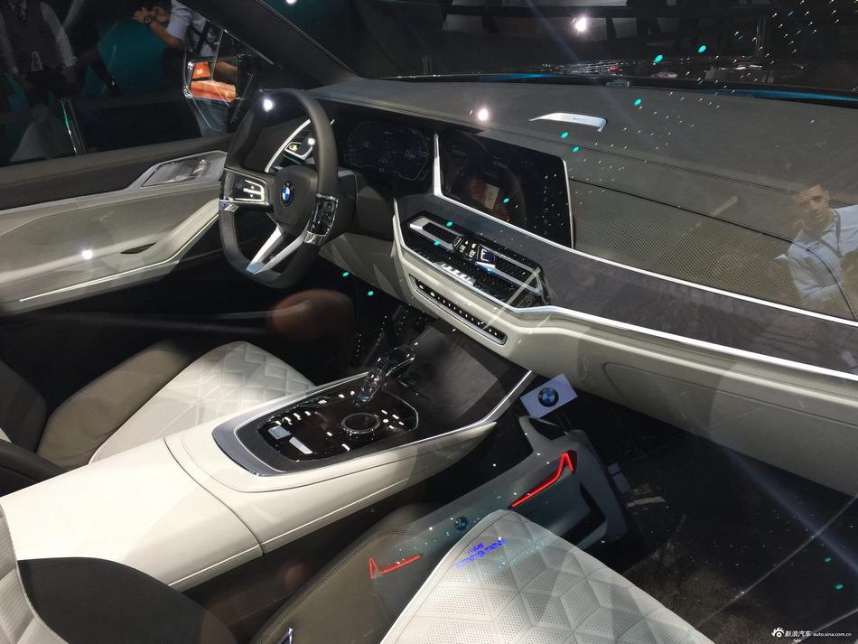 法兰克福车展 宝马X7概念车亮相 采用七座设计