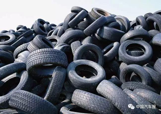 挥别黑色污染  六部委对废旧轮胎下手