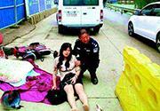 澳门永利赌场女子骑车撞上宠物狗摔骨折 狗主人一审判赔10万