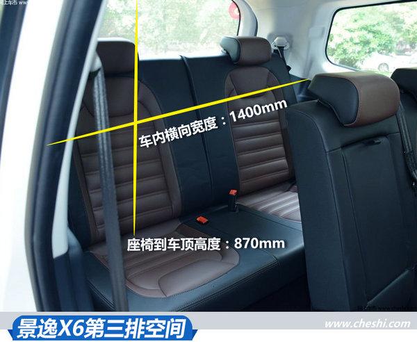 够大能装才是关键 风行景逸X5/X6空间测试-图10