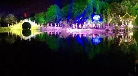 温州江心屿山水实景演出似印象西湖 网友:太震撼了