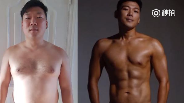 励志!韩国小伙Hugh Gwon用23周减重22公斤,从胖纸变型男!他用...
