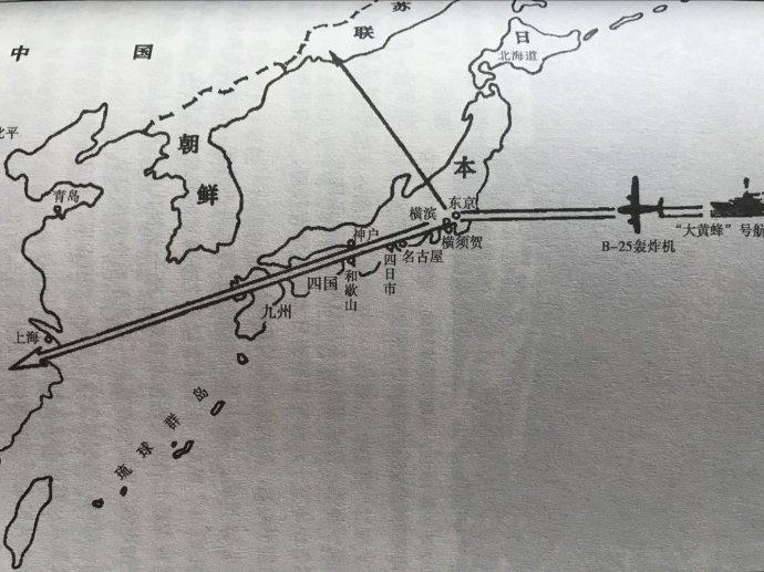 太平洋战争之杜立特空袭东京