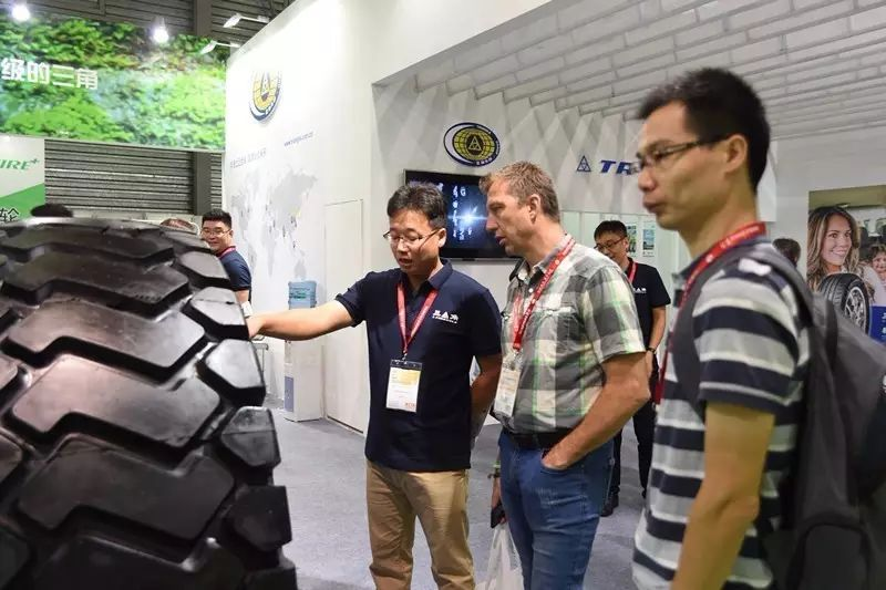 盛况!三角轮胎亮相2017中国国际轮胎及后市场展览会