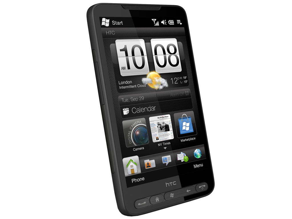△HTC Touch HD2