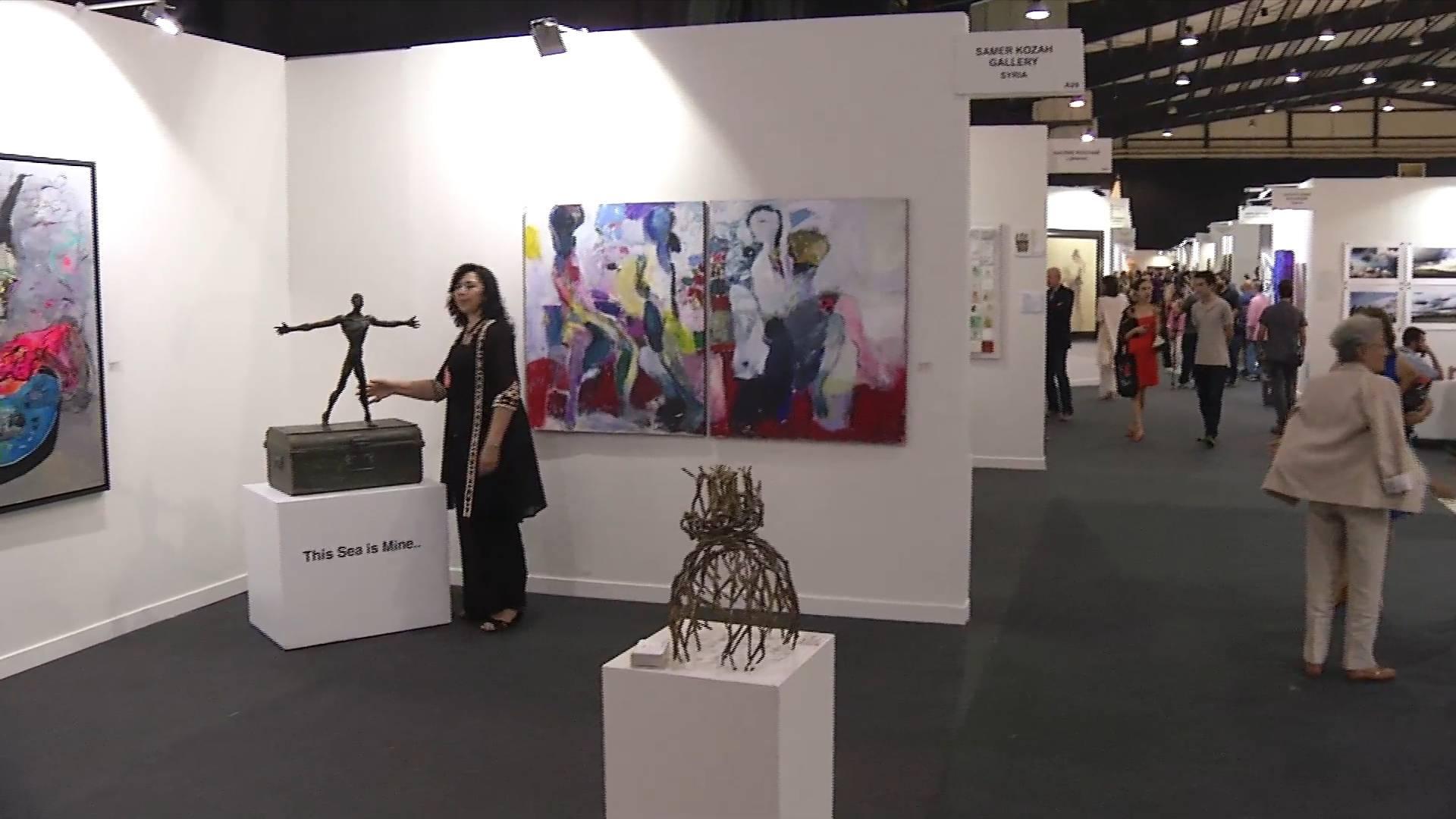 第八届贝鲁特艺术博览会开幕
