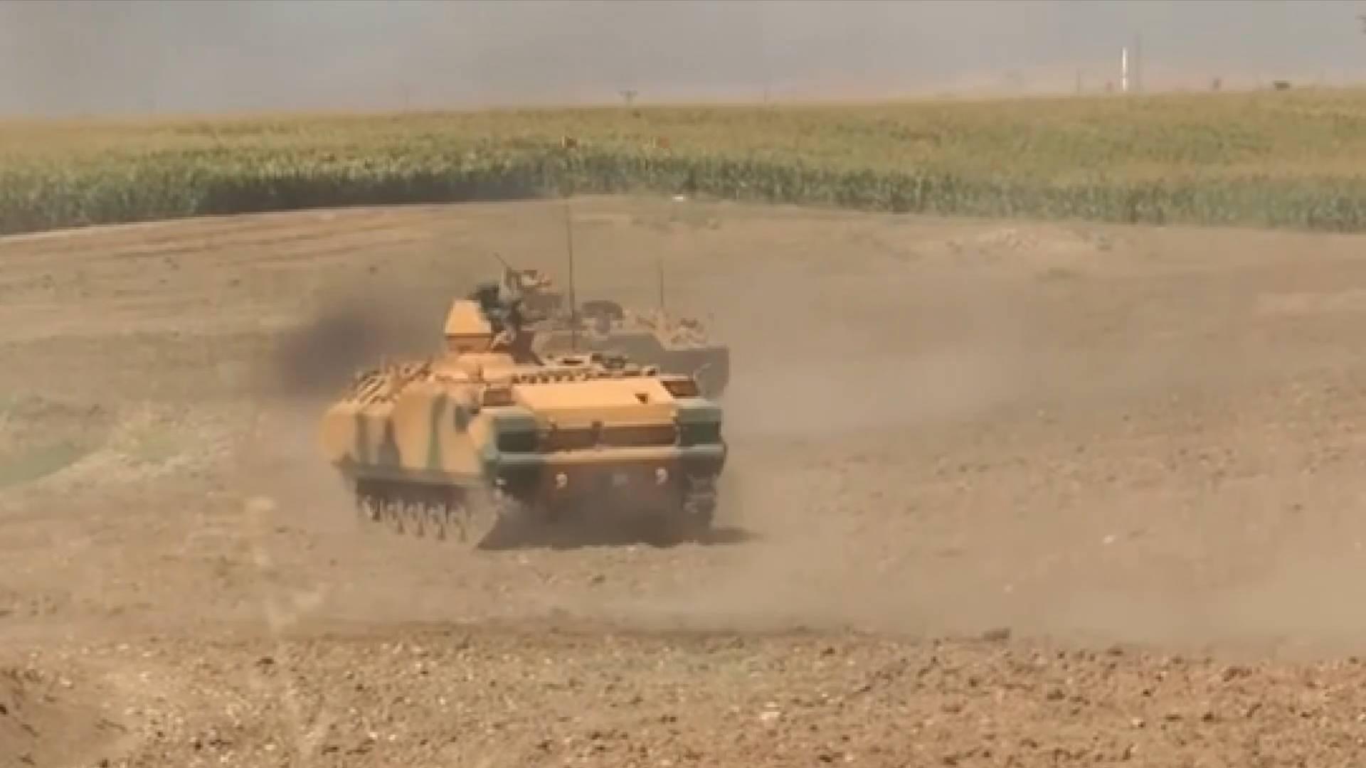 土耳其提高土伊边境军演级别