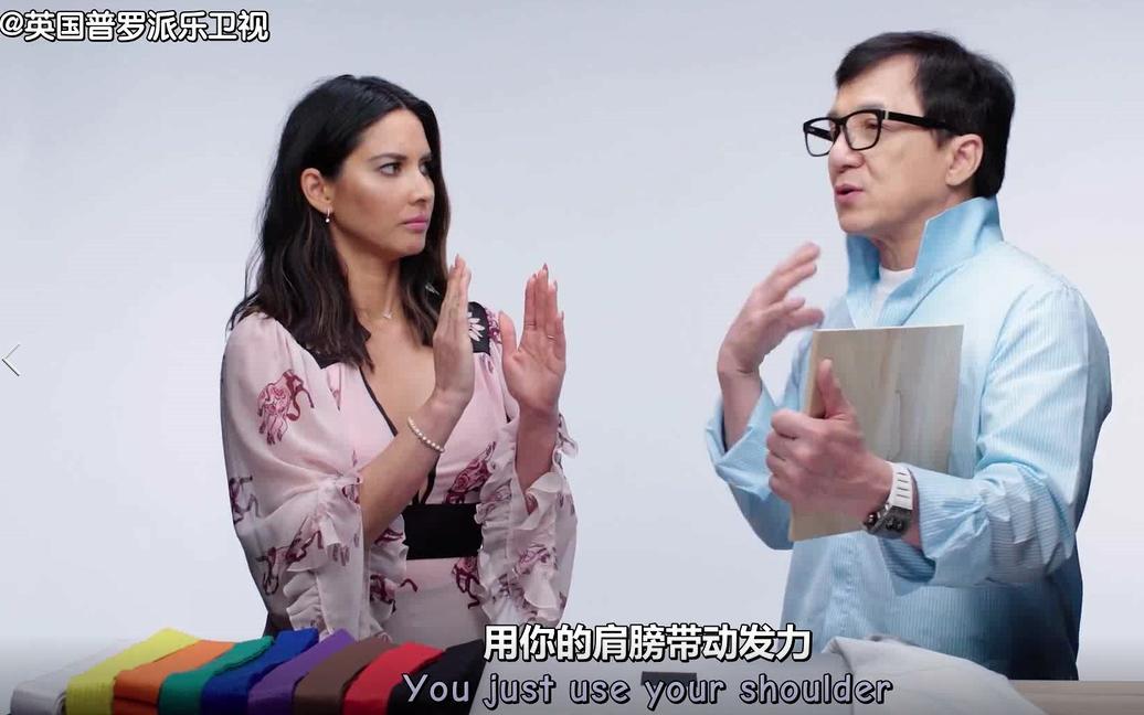 成龙回答歪果仁提问:中国功夫