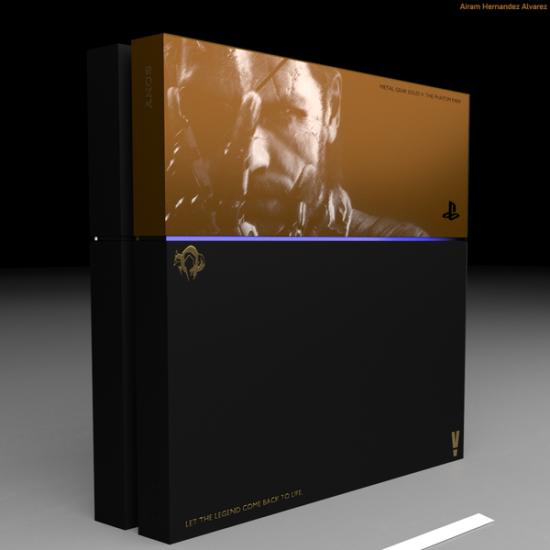 玩家设计的《合金装备》主题PS4