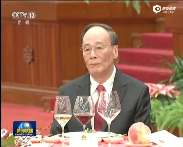 庆祝中华人民共和国成立68周年  国务院举行国庆招待会
