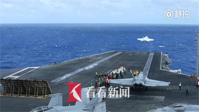 """又安什么心?美""""里根号""""航母将赴韩联演反导反潜"""
