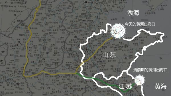 黄龙北顾800里:咸丰年间黄河大改道