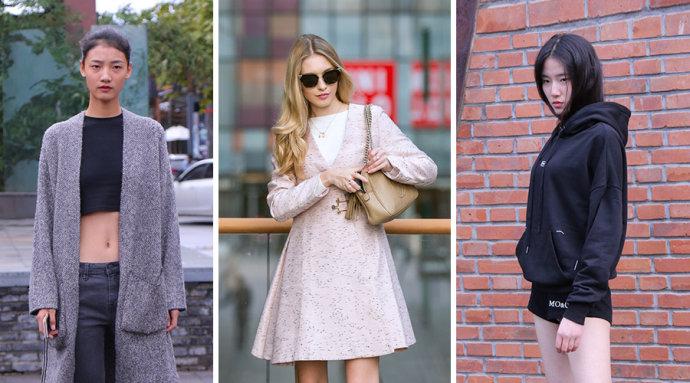 走在时尚尖端的潮人