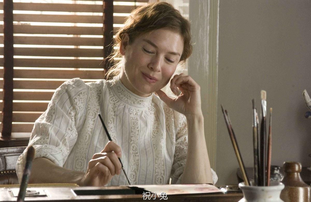 画下彼得兔的波特小姐怎样度过一生