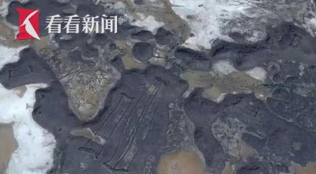 外星人所为?中东发现数百神秘石墙建筑已有几千年历史