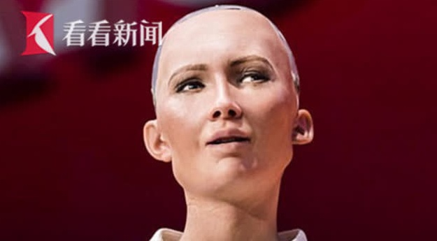 """世界首例!机器人""""索菲娅""""获沙特公民身份 称人类更爱与她交流"""